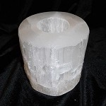 Candle Holder - Selenite
