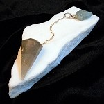 Pendulum - Tourmalinated Quartz / Aquamarine