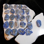 Rune Set - Blue Aventurine